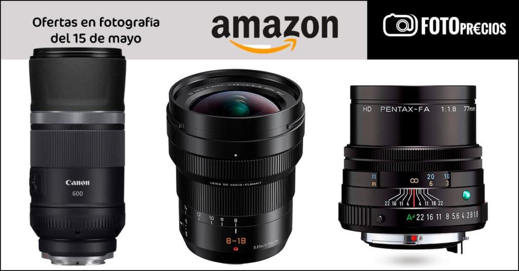 FotoPrecios mínimos del 15 e mayo en Amazon.