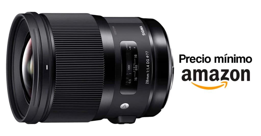 Precios mínimo del Sigma 28mm F1.4 ART para Sony E.