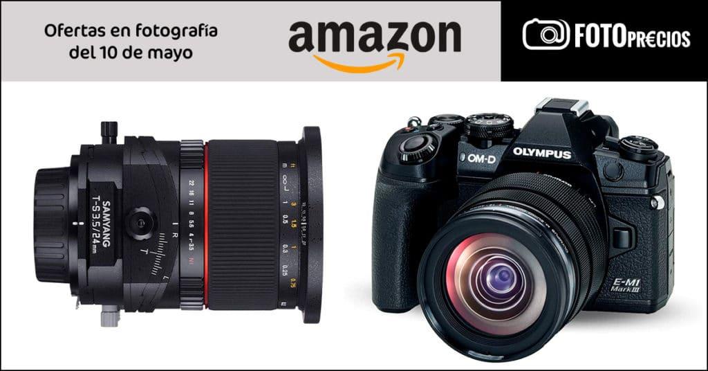 Precios mínimos Olympus E-M1 III, Samyang 24mm tilt-shift Sony E.