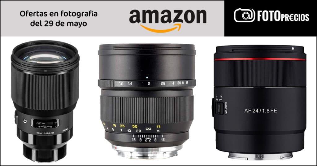 Fotoprecios mínimos del 29 de mayo: Samyang 24 mm F1.8 para Sony E, Sigma 85mm F1.4 para montura L.