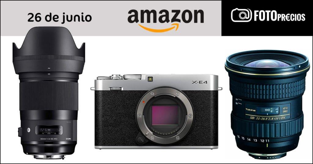 FotoPrecios m-inimos del 26 de junio en Amazon.