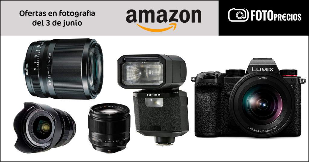 Ofertas de fotografía en Amazon del 3 de junio.