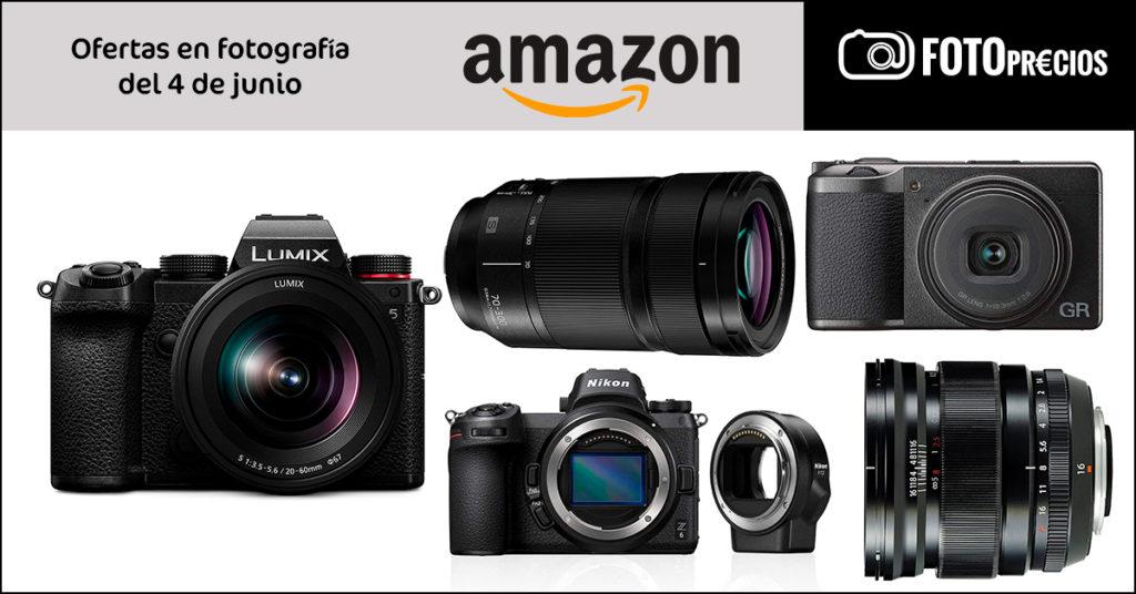 Precios mínimos por la Lumix S5, Ricoh GR III, Fujinon 16 F1.4, Nikon Z6.