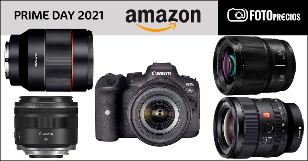 PrimeDay 2021: Canon R6, RP, RF 35mm F1.8, Sony 24 F1.4, Lumix S 85mm, Samyang 50mm f1.4.
