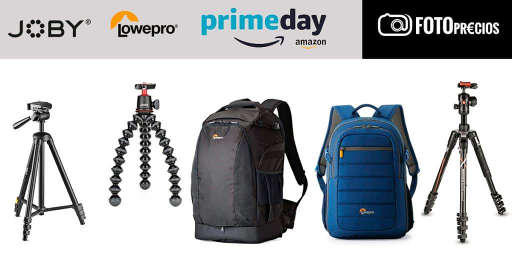 Precios mínimos en Joby, LowePro, National Geographic en Amazon Prime Day 2021.