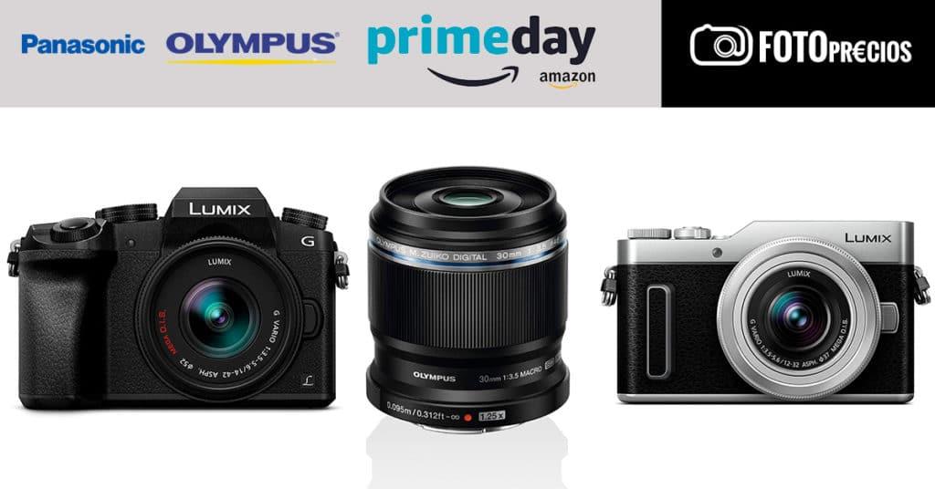 Prime Day 2021 en Olympus y Panasonic.