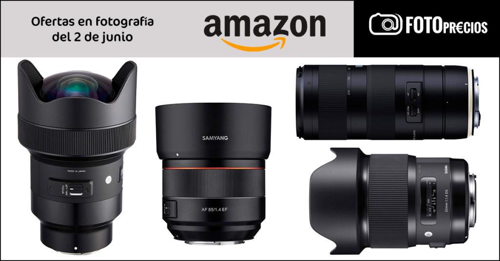 Fotoprecios mínimos: Sigma 14mm F1.8, Sigma 20mm F1.8 Sony E, Tamron70-201 y Samyang 85 F1.4 Canon EF.