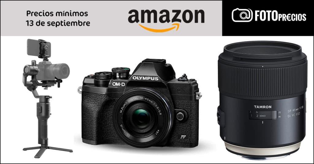Fotoprecios mínimos del 13 de septiembre en Amazon.