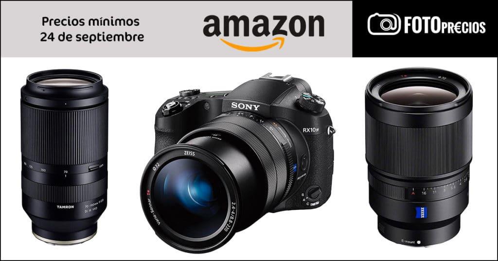 FotoPrecios mínimos del 24 de septiembre en Amazon.
